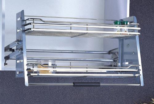 khay1 Khay inox đựng gia vị gắn tủ trên   PK03