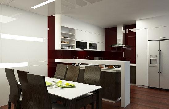 kg bep1 Không gian bếp   Nơi duy trì bữa cơm thân mật của gia đình