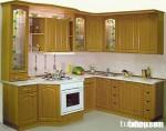 Tủ bếp gỗ Sồi TC02 (gỗ Oak)