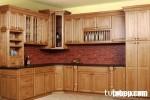 Tủ bếp gỗ Giáng Hương TC03