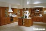 Tủ bếp gỗ Tần Bì TC05 (gỗ Ash)