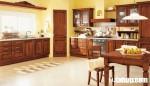 Tủ bếp gỗ Gõ Đỏ TC06