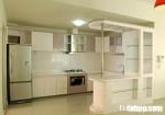 Tủ bếp quầy bar TQ01