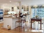 Tủ Bếp Trắng Hiện Đại – khẳng định sự tinh tế và sang trọng