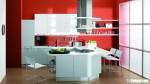 Tủ bếp gỗ tần bì có đảo TBT0201