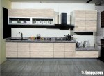Tủ bếp laminate có đảo TBN0114