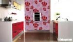 Tủ bếp laminate có đảo TBN0115