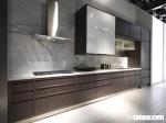 Tủ bếp kết hợp Acrylic và Laminate, vẻ đẹp lộng lẫy và cực kỳ tinh tế