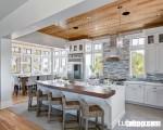 Thuyết nghịch đảo và sự sáng tạo tuyệt vời cho không gian bếp đẹp