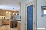 Tủ bếp gỗ Laminate kết hợp Acrylic TBT0247