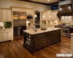 Tuyệt đỉnh nội thất phòng bếp: Tủ Bếp Gỗ Sồi Mỹ Sơn Trắng