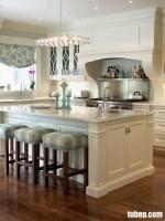 Tủ bếp gỗ căm xe sơn trắng, tuyệt phẩm cực bền theo tháng năm