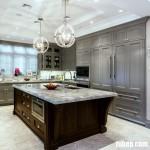 Phong cách nội thất bếp hoàng gia hiện đại, lộng lẫy và đẹp đến bất ngờ
