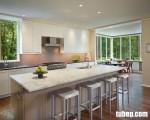 Tủ bếp Laminate trắng tinh tế, hiện đại và cực bền theo tháng năm