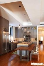 Tủ bếp laminate có đảo – TBN112