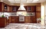 Tủ bếp gỗ Căm –xe TBB016