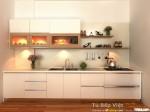 Tủ bếp gỗ MDF Acrylic – TBB013