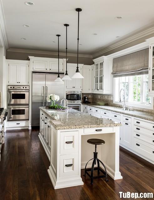 20 Tủ bếp Gỗ tự nhiên – TBN116