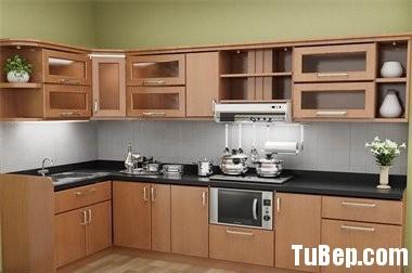 Tủ bếp MDF Laminate   TBB076