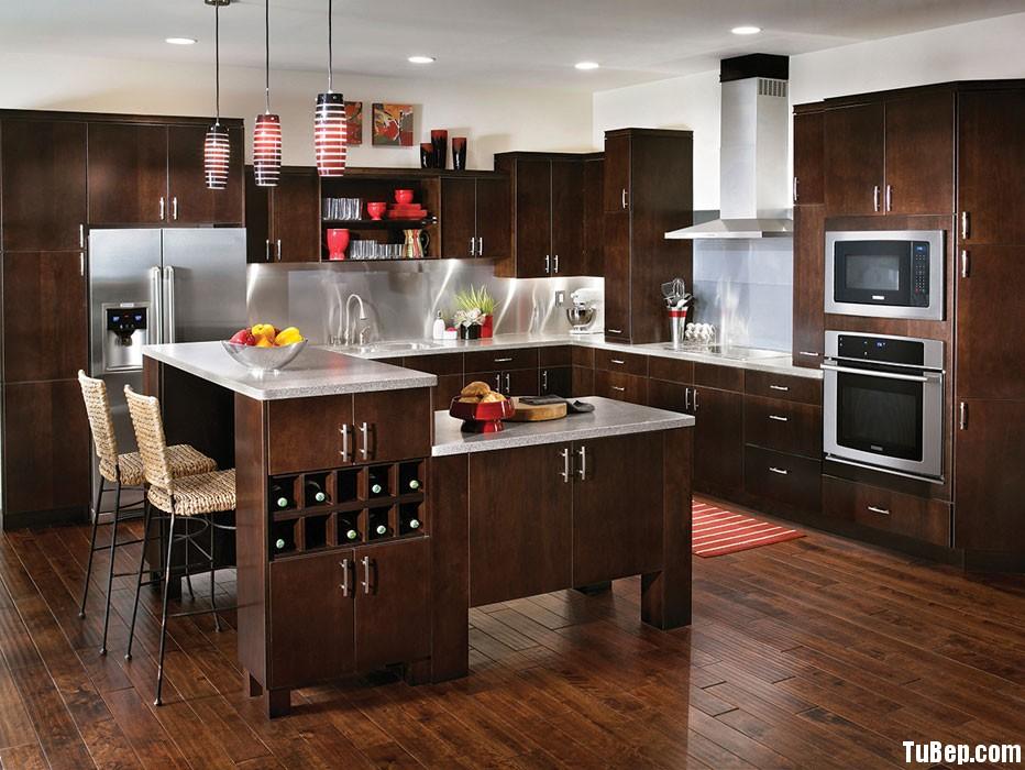 Imprezza Selby Maple Molasses Tủ bếp gỗ Laminate chữ L TBT0063