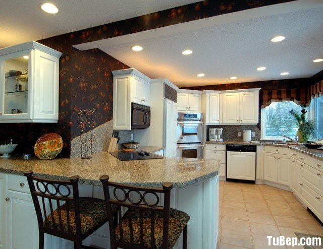 VÈDVFV Nội thất Tủ Bếp   Tủ bếp Gỗ tự nhiên – TBN216