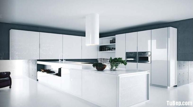 Acrylic 2 Tủ bếp gỗ MDF Acrylic, có hệ tủ kho – TBB073