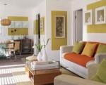Những ý tưởng thiết kế và tranh trí phòng khách đẹp