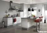 Tủ bếp laminate có đảo TBT0438