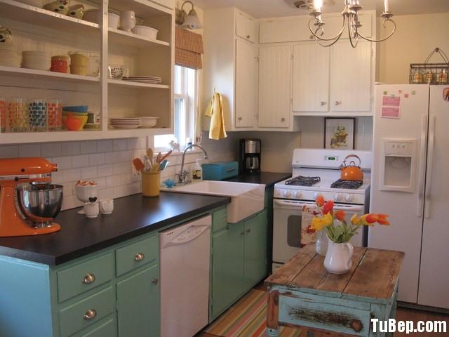 21 Tủ bếp Gỗ tự nhiên – TBN121