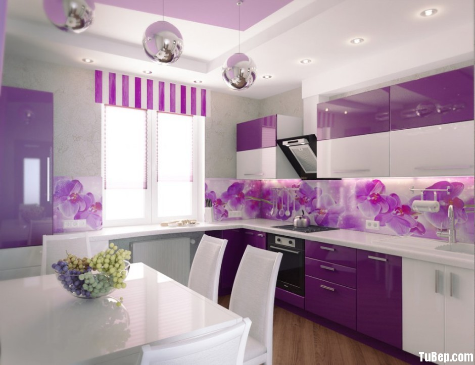 Modern Kitchen Painting and Decorating 940x723 Tủ bếp acrylic TBN0076