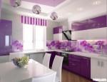 Tủ bếp gỗ Laminate chữ I màu trắng TBT0510