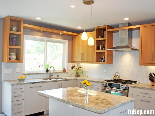 RS Custom Spaces White Kitchen 5 s4x3 lg Tủ bếp gỗ Laminate có đảo TBT0094