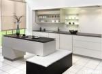Tủ bếp Laminate có đảo TBT0241
