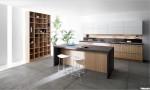 Tủ bếp laminate dạng chữ I TBT0031
