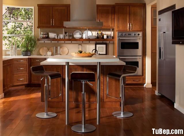 2006 xoan đào Tủ bếp gỗ xoan đào – TBB110