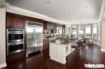 Tủ bếp Acrylic có đảo TBT0450