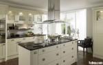 Tủ bếp gỗ Xoan Đào có đảo TBT0273