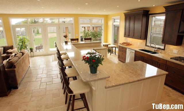 45 Tủ bếp Gỗ tự nhiên – TBN132
