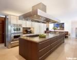 Tủ bếp Laminate màu trắng chữ L TBT0796