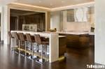 Tủ bếp gỗ MDF Laminate – TBB243