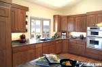 Tủ bếp gỗ Tần Bì – TBB244