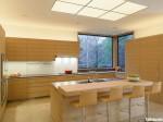 Tủ bếp laminate có đảo TBT0252
