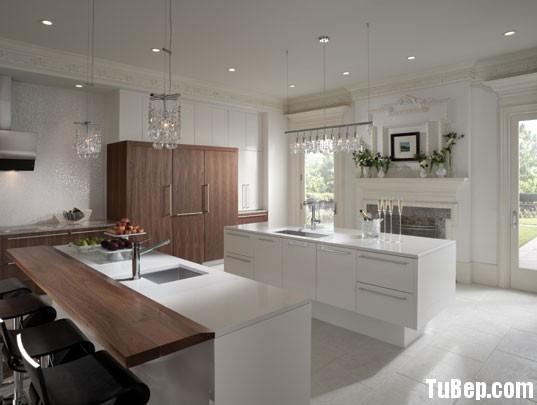 p6b Tủ bếp laminate có đảo TBN0202