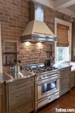 Nội thất Tủ Bếp – Tủ bếp Gỗ tự nhiên – TBN235