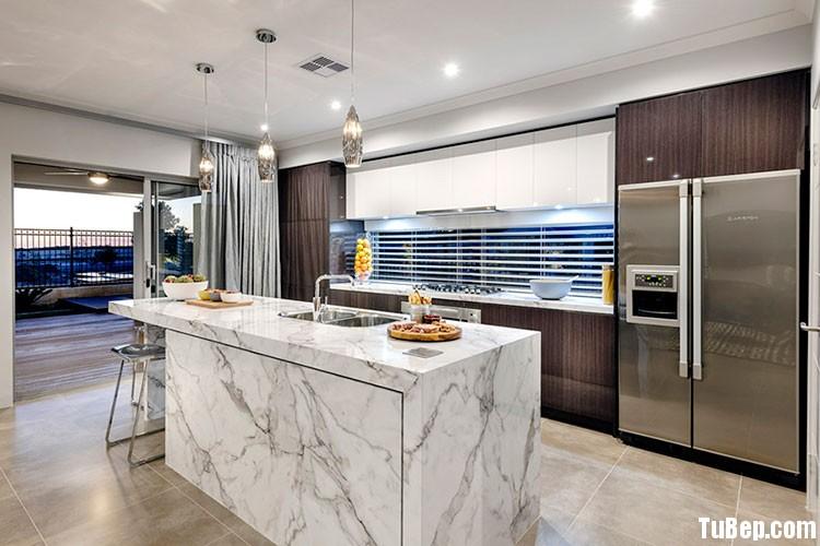 stunning kitchen gallery photo Tủ bếp Acrylic có đảo TBN0206