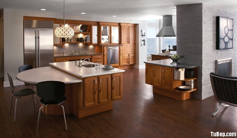 ng  rs11 Tủ bếp gỗ tần bì có đảo TBT0201