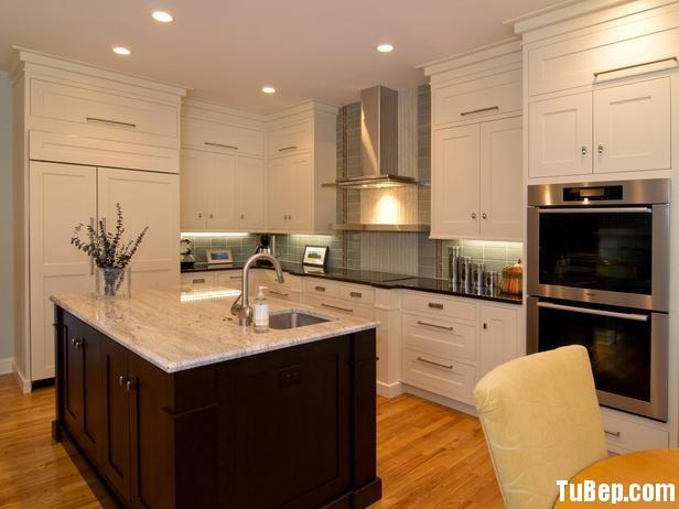 CI mb hargrove shaker kitchen lead image 4x3 lg Tủ bếp gỗ sồi sơn men TBT0084