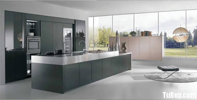 2706 Acrylic 2 Tủ bếp gỗ MDF Acrylic, có bàn đảo – TBB229
