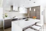 Tủ bếp MDF Laminate, có bàn đảo – TBB113