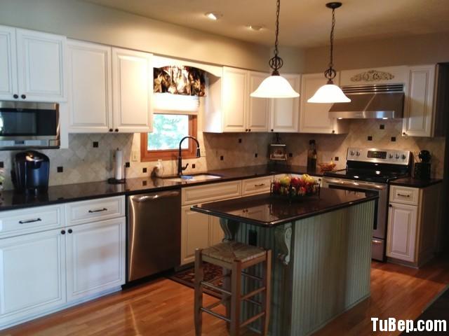 34 Nội thất Tủ Bếp   Tủ bếp Gỗ tự nhiên – TBN188